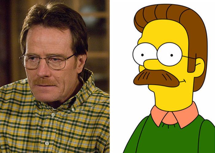 Ned Flanders e Walter White