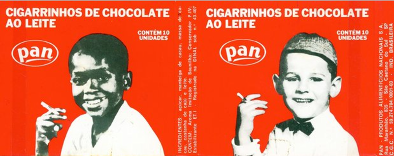 guloseimas cigarrinho-chocolate
