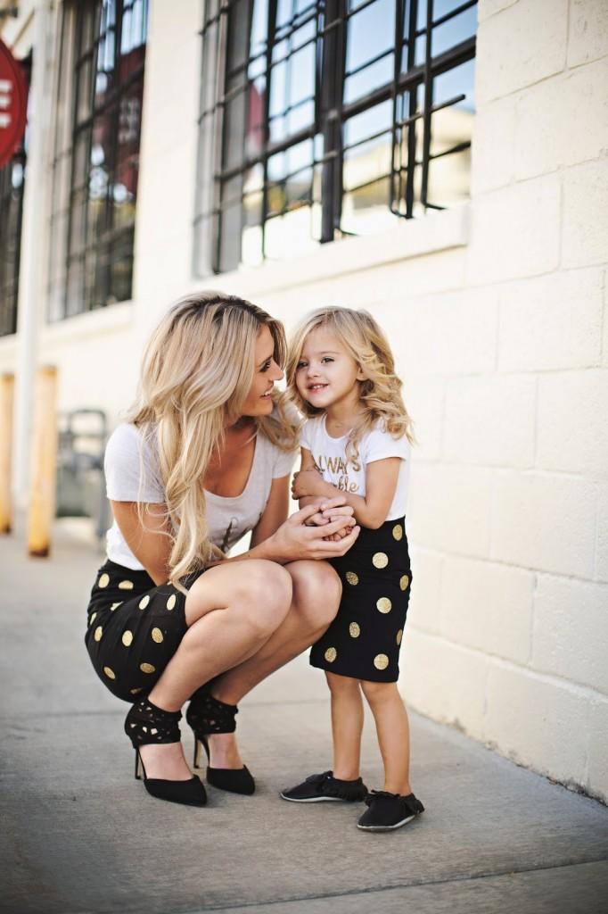 20 Fotos de mães e filhas iguais.
