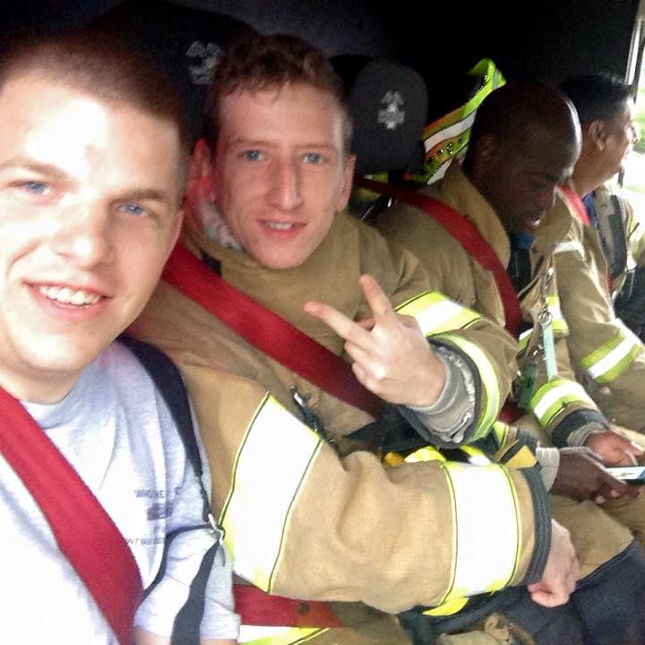 história emocionte bombeiros