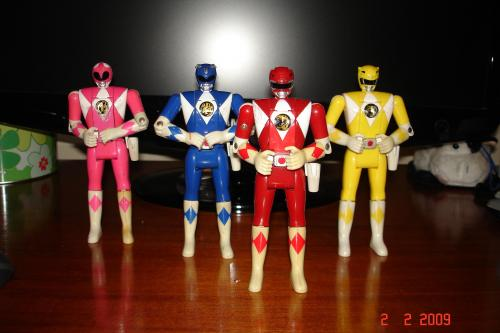 Bonecos Power Rangers