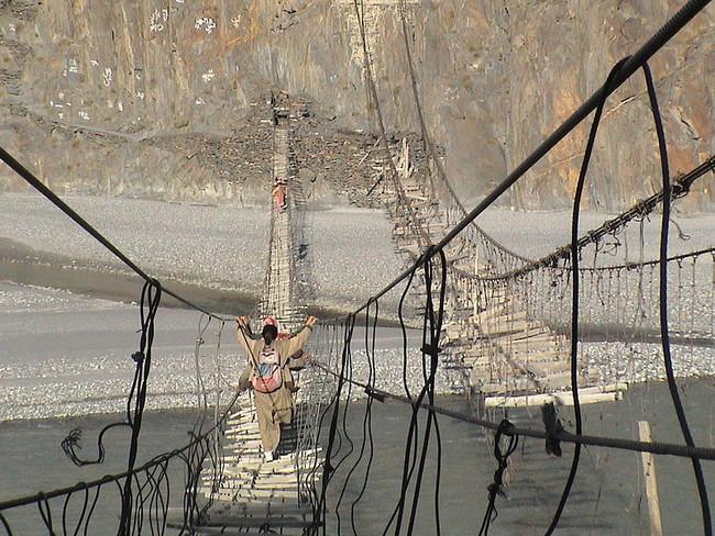 Ponte assustadora
