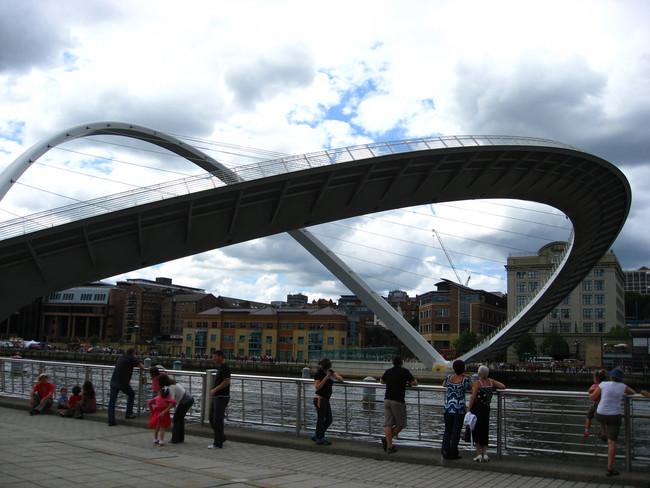 Ponte envergada