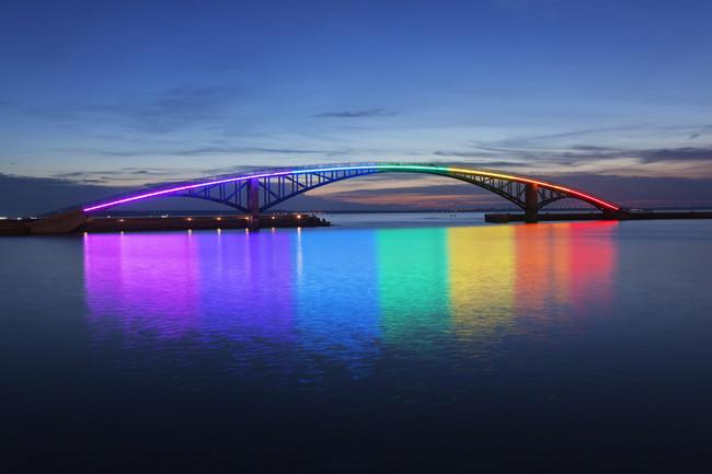 ponte colorida