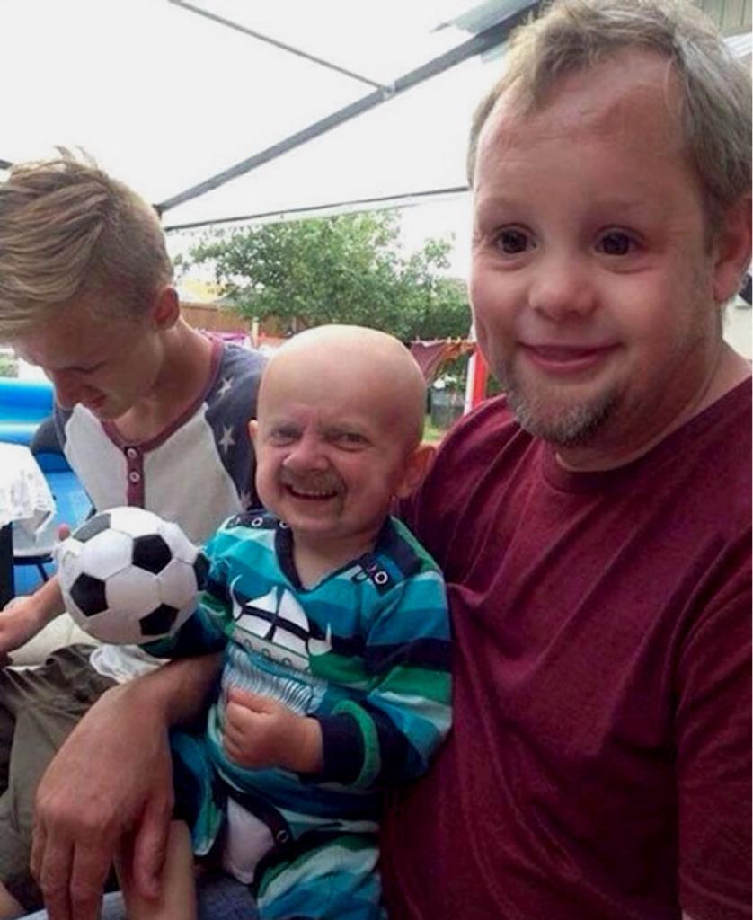 troca de rostos Snapchat pais e filhos