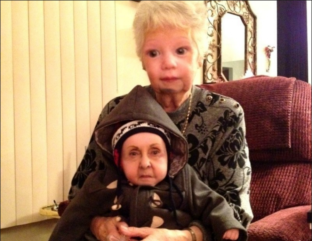 troca de rostos aplicativo Snapchat avós
