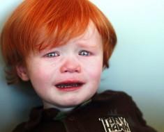 bebê chorando verdades universais